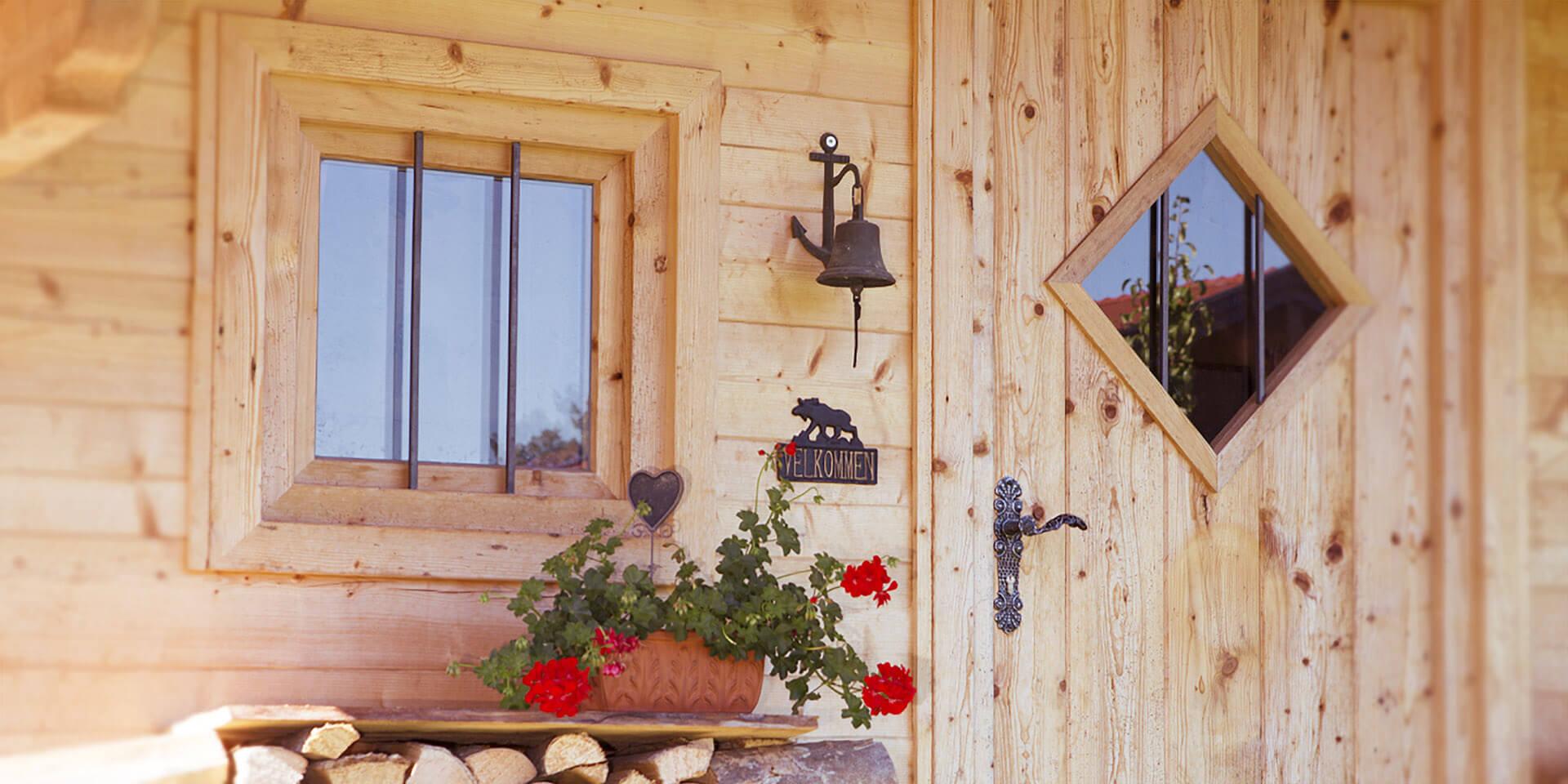 Gartenhaus Chiemgau Detailansicht