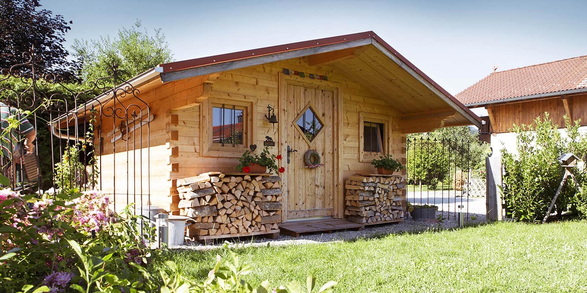 Gartenhaus Chiemgau von Florians Hütten